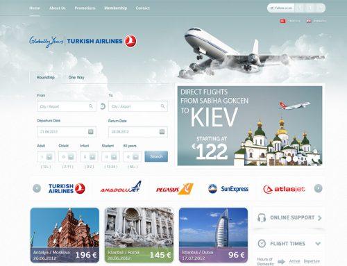 طراحی سایت فروش بلیط هواپیما
